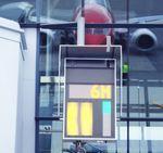 sistema de orientação visual de estacionamento avançado / para aeroporto
