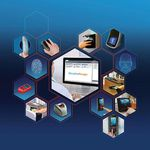 software de controle / para controle de acesso / para scanner / biométrico