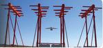 Sistema de Pouso por Instrumentos com trajetória/rampa de planeio / com localizador / de categoria I / de categoria II