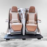assento para cabine de avião