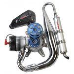 motor de pistões 10 – 50 cv / 10 – 50 kg / para paramotor / a 2 tempos