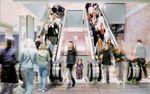 escada rolante para aeroporto
