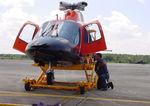 veículo transportador para helicóptero