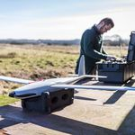 drone para mapeamento / de vigilância / de asas fixas / mini