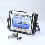 detector de falhas por ultrassom / para aeronáutica / para materiais / para CND