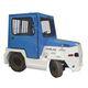 trator push-back / com barra de reboque / para carrinhos de bagagem / elétrico