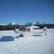 esqui para avião leve